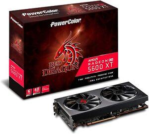 PowerColor Red Dragon AMD Radeon RX 5600 XT 6GBD6-3DHR/OC
