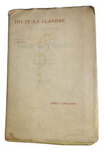 Émile Verhaeren - Toute la Flandre : II. Les Héros, Les villes à pignon. - 1920
