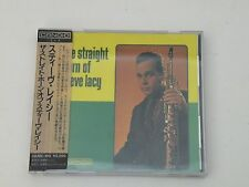 STEVE LACY - THE STRAIGHT HORN OF - CD JAPAN + STICKERED OBI - CANDID MINT-