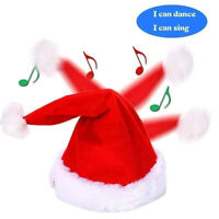 Can Dancing and Singing Hat - the Christmas Santa Hat Toys for Kids