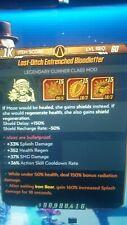 borderlands 3 (ps4) Modded Moze class mods-x5 pack- level 60(S.J Mods)Splash,Rad