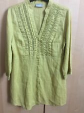Ladies Wallis Linen Top Size 8