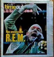 MICHAEL STIPE / REM - STAR NEWSPAPER / TIMEOUT SUPPLEMENT - COVER STORY -10/7/04