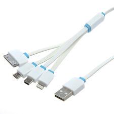 Cable Adapter USB Male to Micro USB Mini USB + 8 / 30 pin iPhone iPod iPad