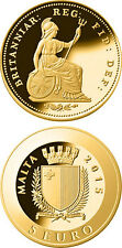 Malta GOLD Coin - THIRD FARTHING - Smallest Smallest Gold Coin Programme