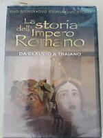 DVD film documentario  LA STORIA DELL'IMPERO ROMANO da CLAUDIO a TRAIANO nuovo