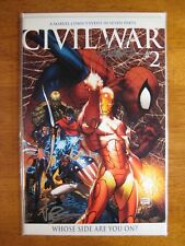 WOW! CIVIL WAR #2 **2X SIGNED! MICHAEL TURNER! DEXTER VINES!** COA!