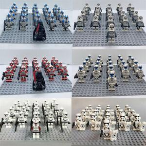 21PCS Star Wars Clone Trooper Waffen Gun Bausteine Spielzeug Kinder Geschenk