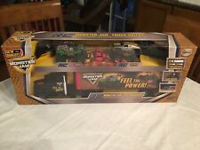 New Bright RC Monster Jam Truck Hauler With 2 Vehicles NEW