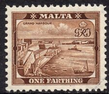 Malta 1938 ¼d Brown Definitive SG 217 UNMOUNTED MINT