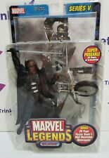 Marvel Legends Blade: Series V - Wesley Snipes Action Figure With Motorcycle