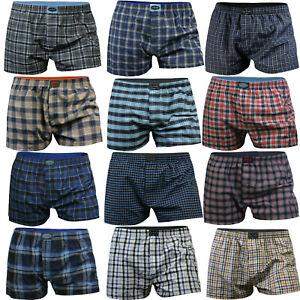 10x Boxershorts Webboxer Herren Unterhose Unterwäsche Baumwolle Boxer Shorts