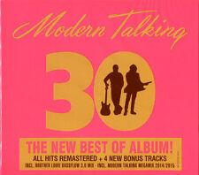 MODERN TALKING 30  REMASTERED 2 CD SET IN DIGIPAK