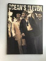 "Japan movie souvenir program ""Ocean's Eleven"" Brad Pitt, George Clooney【M04】"