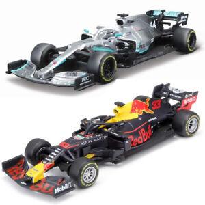 Bburago 1:43 Formula One F1 Mercedes Farrari Red Bull Race Diecast Model Car PL