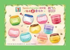 HK 7-11 Sanrio Characters Lock & Go Round & Double-layer Container (Set of 10)