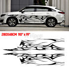110 X 19 Car Decal Vinyl Graphics Two Side Stickers Body Decals Sticker Us