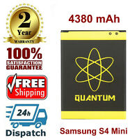Quantum New Extended Slim 4380 mAh Battery for Samsung Galaxy S4 Mini
