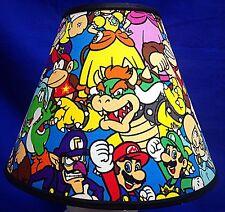 Nintendo Mario Brothers Lampshade Handmade Lamp Shade