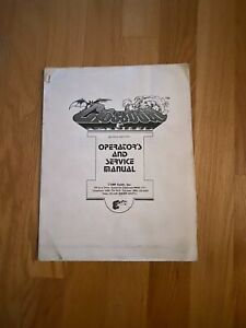 Crossbow Video Arcade Game Operators & Service Manual, Exidy 1983