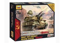 "ZVEZDA 7419 1/100 Soviet Anti Aircraft Weapon System ""SHILKA"""