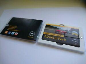 Opel (Vauxhall) Adam in Paris Press Media Info USB Pen Drive Brochure 2012