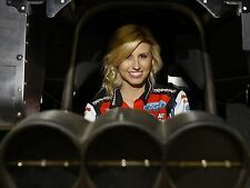 COURTNEY FORCE BEHIND THE WHEEL FUNNY CAR DRAG RACE RACING 8X10 GLOSSY PHOTO