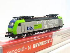 Fleischmann N 867386 E-Lok Re 485 011-1 Connecting Europe BLS DSS OVP (RB104)