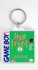 FINAL FANTASY ADVENTURE NINTENDO GAME BOY KEYRING LLAVERO