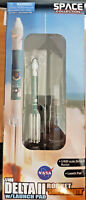 Delta II Rocket Shark's Mouth - Scala 1:400 Die Cast - Dragon Space
