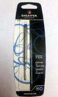 Sheaffer Ballpen Refill (Blue/Black) ,(Fine/Medium) Point Original New Sealed