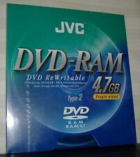 DVD-RAM JVC 4.7Gb type 2 (cartridge)