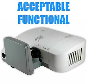 NEC U300X (NP-U300X) Ultra Short-Throw DLP Projector - Acceptable Functional