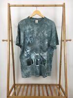 VTG MJ Soffe Men's Dye-Tie Wolfpack Snow Mountain Short Sleeve T-Shirt Sz L USA