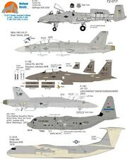 Wolfpak Decals 72-17 107th FS, 127th FW, Selfridge AFB 2009 Hunter Hornets Decal