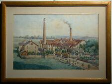 Erwin PENDL (1875-1945) Papierfabrik in Stuppach NÖ