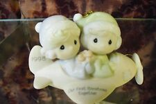 "Precious Moments-#455636 ""1998 Our First Christmas Together"" Ornament- NEW"