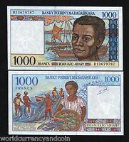 Madagascar 62 UNC Lemberg-Zp 50 Francs 1974 P