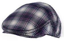 CAPPELLO COPPOLA PAR VIOLA BIANCO UOMO DONNA COTONE berretto cappellino visiera