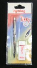 Rotring TIKKY Pencil 0.7 FREE ERASER Burgundy New