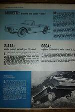 ARTICOLO  MORETTI SPIDER 2500 - FARMOBIL   -  1962 (M)