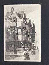 Vintage Postcard: #80: Cat & Wheel Public House, Castle Green
