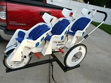 Runabout Hitch Car or truck Carrier for 3, 4, 5+ Seater Baby jogging stroller