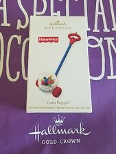 HALLMARK 2012 CORN POPPER FISHER PRICE MIB