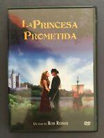 DVD LA PRINCESA PROMETIDA Robin Wright Cary Elwes Mandy Patinkin ROB REINER