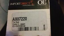 New Steering Tie Rod End Import Direct AX07220 EV800602