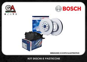 Kit dischi freno e pastiglie anteriori BOSCH Ford Fiesta 6 VI dal 2008 1.4 TDCI