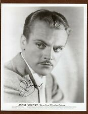 JAMES CAGNEY Signed Photo FROM ESTATE in TORRID ZONE Warner Bros. & Vitaphone