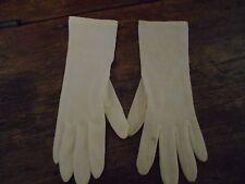 Ladies Vintage White Gloves