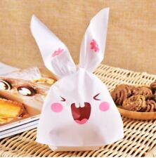 Easter Bunny Cookies Bag Wedding Favors And Gifts Cute Rabbit Ear Plastic Bags